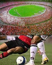 Foto: Futebol no Estádio do Maracanã